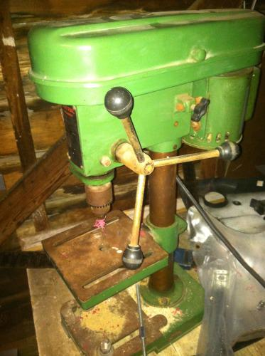OddBot's Drill Press