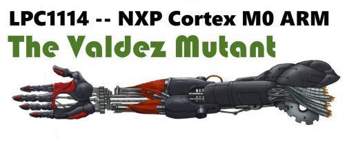 The Valdez Mutant -- LPC1114 QFN