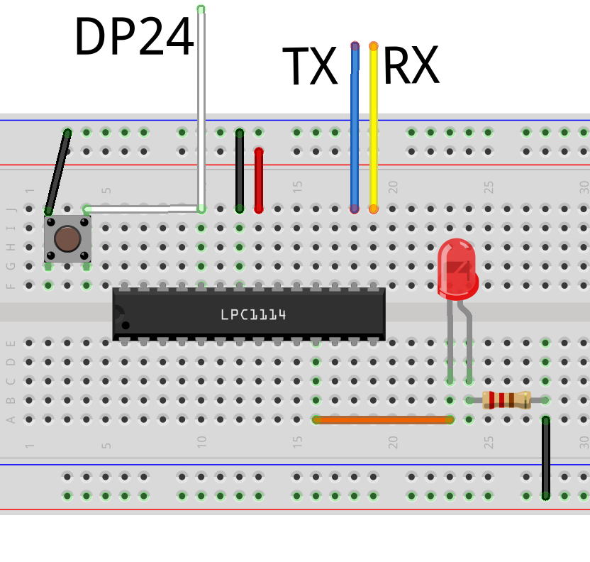 Latest Posts Ladviens Lab Eagle Part 2 Using The Schematic Editor Maxembedded One Last Bit I Should Point Out When Dp24 Is Connected To Ground And Then Voltage Supplied Lpc1114 Itll Enter Hardware Bootloader