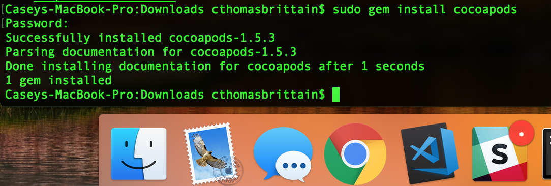 cocoapods-installation